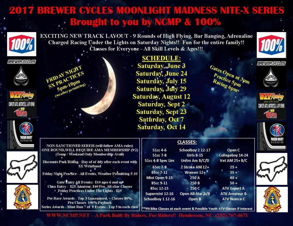 Moonlight Madness Flier 2