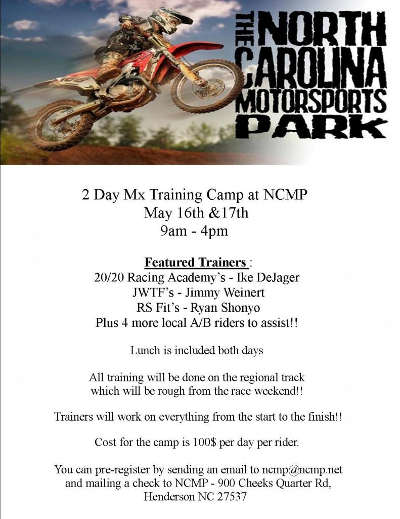 MX Training May 16 2016