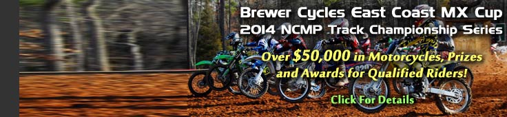 2014 East Coast MX Cup at NCMP